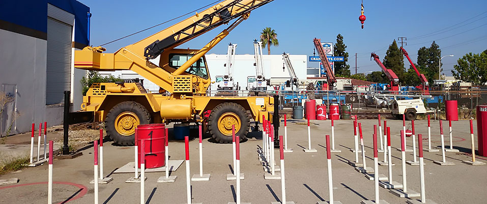 Mobile Crane Operator Certification Courses