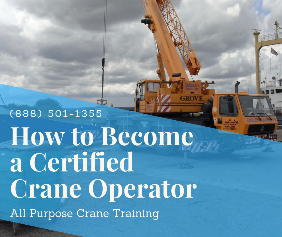 How to Become a Certified Crane Operator